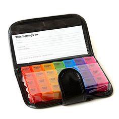 7 Day Pill Organizer Dispenser Case Box Wallet Weekly Medicine Travel kit case   | eBay