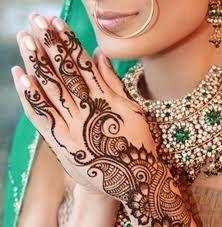 Bridal mehendhi