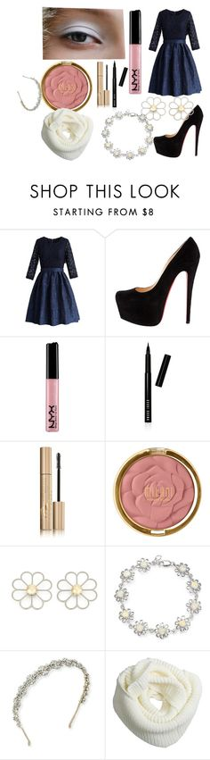 """Random 22"" by weirdo-juan-oh-juan on Polyvore featuring Chicwish, Bobbi Brown Cosmetics, Stila, Milani, Cheap Monday, Bling Jewelry and Jennifer Behr"