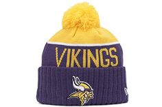 6d0f61dad4a Minnesota Vikings New Era 2015 NFL Sideline On Field Sport Knit Hat New Era  http