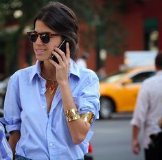 leandra medine/ because i love the way she dresses, classic and chic with an edge