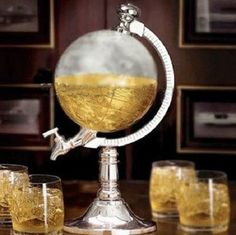 Globe Shaped Beverage Liquor Dispenser $49.99 Description: 1000cc Globe Shaped Beverage Liquor Dispenser Drink Wine Beer Machine Pump Main Color:As picture showed Occasion: Casual Material: ABS Standard / Metal Diameter: 15 cm/5.9 inches  Height: 35 cm/13.78 inches  Capacity: 1000 cc/ml   Package include: 1 x Globe Shaped Beverage Liquor Dispenser   Does not ship to PO boxes/AK/HI/Canada/Puerto Rico. Most orders are delivered within 7 business days from the purchase date.
