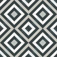 cement tile - HOTT Graphic Patterns, Tile Patterns, Textures Patterns, Primal Craft, Mind Benders, Black And White Quilts, Geometry Pattern, String Quilts, Decks And Porches