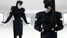 Iimuahii's fall/winter collection 2012 is stunning, and these futuristic photos by Juan Zambrano and Stephen Wheeler are total sci-fi eye-candy.