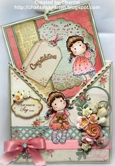 Cards made by Chantal: Just want to say...Congratulations!