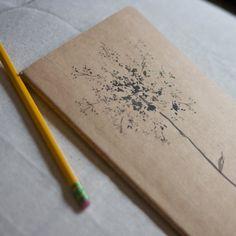 queen anne's lace moleskin journal