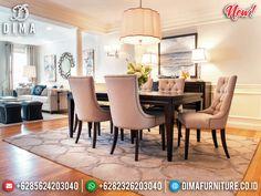 High Class Meja Makan Minimalis Modern Great Fabric Best Product Seller BT-0832