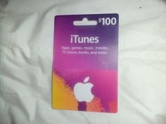 $100 Apple iTunes Gift Card  http://searchpromocodes.club/100-apple-itunes-gift-card-24/