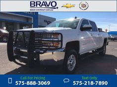 2015 Chevrolet Chevy SILVERADO 2500H LT White  9k miles Call for Price 9105 miles 575-888-3069 Transmission: Automatic  #Chevrolet #SILVERADO 2500H #used #cars #BravoChevroletCadillac #LasCruces #NM #tapcars