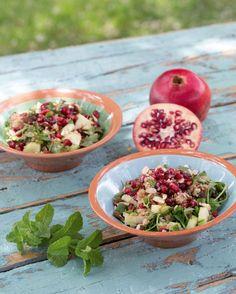Marokkanischer Quinoa-Salat (Rezept: Wellcuisine, Stefanie Reeb, Droemer Knaur Verlag; Foto: Thomas Leininger)