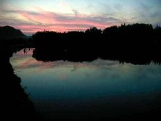 I believe this is a sunset from the Mill Creek Farm bike trail, Canfield, Ohio. By Julie Arduini