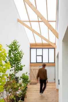 Haddock Architecture, Charles Bouchaïb · LE HANGAR HABITÉ · Divisare Contemporary Architecture, Architecture Details, Arch Light, Le Hangar, Keep The Lights On, Architectural Section, Ideal Tools, How To Run Faster, Warehouse