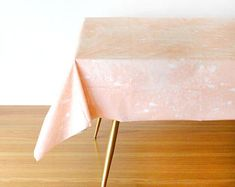 Blush Table Cover, Blush Table Cloth, Party Linen, Table Cover, Blush Party Supplies, Goddess Collection, Pink Tablecloth, Pink Table Cover