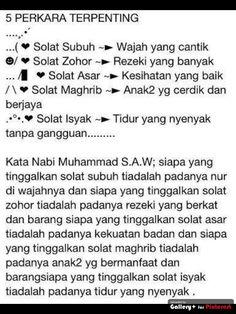 SOLAT Islamic Prayer, Islamic Teachings, Islamic Dua, Islamic Quotes, Learn Islam, Self Reminder, Holy Quran, Hadith, Self Improvement