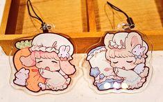 新しいアクキー第2弾はおねんねしてるけもみみちゃんです٩(๑´0`๑)۶ 好きな要素を詰め込みました…!   mokarooru_0x0 Kawaii Art, Anime Kawaii, Anime Chibi, Anime Art, Cute Cartoon Food, Watercolor Girl, Kawaii Accessories, Acrylic Charms, Kawaii Drawings