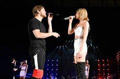 "All of Taylor Swift's BFFs on the '1989' tour | Imagine Dragons' Dan Reynolds, ""Radioactive"" | EW.com Epic tour"