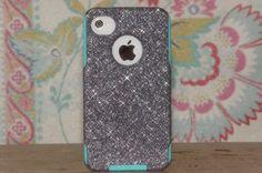 Otterbox Custom iPhone 4 Case, Glitter