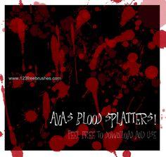 Blood - Download  Photoshop brush http://www.123freebrushes.com/blood-4/ , Published in #BloodSplatter, #GrungeSplatter. More Free Blood splatter Brushes, http://www.123freebrushes.com/free-brushes/blood-splatter/ | #123freebrushes , #Bleed, #Blood, #BloodBrushes, #BloodPhotoshopBrushes, #BloodSplash, #BloodSplat, #BloodSplatter, #BloodSplatterBrushes, #BloodSplatterBrushesPhotoshop, #BloodSplatterEffect, #BloodSplatterPng, #BloodSplatters, #Bloody, #Blots, #Danger, #Dangerou
