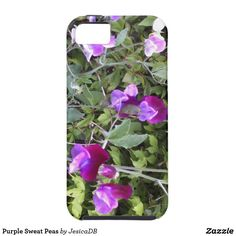 Purple Sweat Peas iPhone SE/5/5s Case