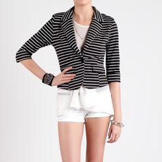 Classic Sailor Stripe Blazer