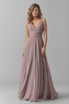 THIS BRIDESMAID DRESS OMG Watters Maids Dress Karen #BridesmaidDresses