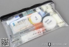Lightweight Backpacking Dopp Kit 01 by ITS Tactical, via Flickr Hiking gear