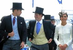 Prince Harry, Prince William and Catherine Duchess of Cambridge