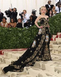 Complete outfit: 'I decided to go with a fairly simple ORLY design but still in line with ... #metgala