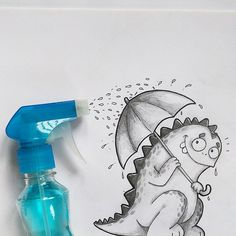 27 Delightful Drawing Illustrations by Manik n Ratan
