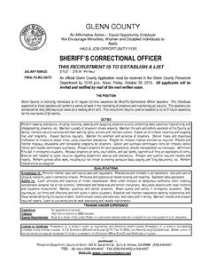 Resume For Juvenile Detention Officer - http://www.resumecareer ...