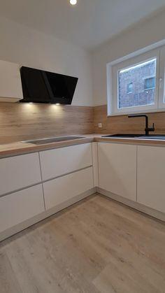 Kitchen Cupboard Designs, Kitchen Room Design, Diy Kitchen Storage, Modern Kitchen Design, Home Decor Kitchen, Interior Design Kitchen, Kitchen Furniture, Kitchen Cabinets, Open Plan Kitchen Living Room