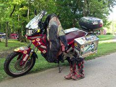 Benka Pulco's world record setting motorbike.