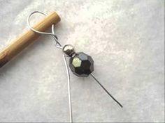shawl stick video, how to make a shawl pin,