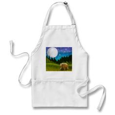 Big Moon Grizzly Apron Cheap Aprons, Aprons For Sale, Big Moon