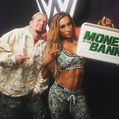wwe She said she would! @carmellawwe is Ms. #MITB! #WWE #SDLive @jamesellsworthwrestling  2017/06/28 11:09:29