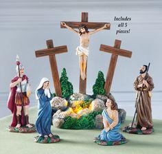 Crucifixion of Jesus Figurines - 5 pc