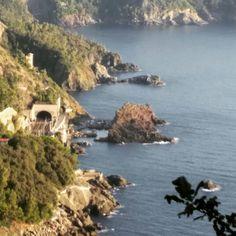 La #costa fra #DeivaMarina e #Bonassola #Liguria #Italy