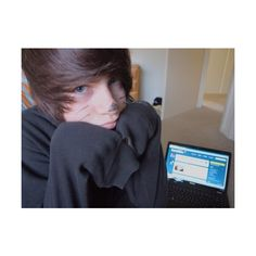 Gallery For > Cute Emo Boy With Beanie Tumblr ❤ liked on Polyvore featuring boys