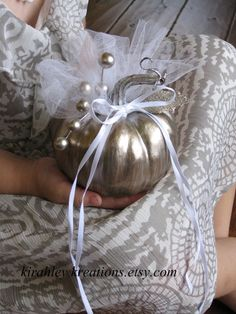 ring pillow for a Cinderella wedding