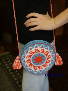 circle fringe bag want