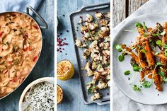 Sommarrätter till din Actifry [7 recept] Actifry, Crockpot, Bacon, Curry, Ethnic Recipes, Cookie, Food, Red Peppers, Curries