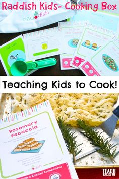 Raddish kids cooking subscription box~ an awesome way to teach kids to cook! Cooking With Kids Easy, Easy Meals For Kids, Kids Meals, Creative Teaching, Teaching Kids, Kids Learning, Kids Cooking Activities, Toddler Activities, Indoor Activities