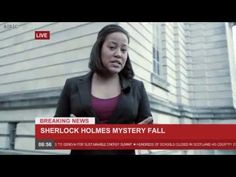 The blog of Dr. John H. Watson - News Broadcast (SPOILERS!) / News report of Sherlock's suicide. How have I never seen this before???