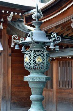 Kushida Shrine: Lantern #japan #fukuoka