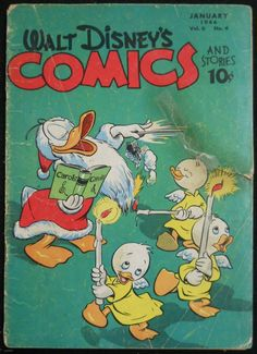 WALT DISNEY S COMICS & STORIES # s 64, 65 & 71 CARL BARKS DONALD DUCK
