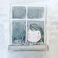 35 Ideas children illustration art fantasy for 2019 Cartoon Kunst, Cartoon Drawings, Cartoon Art, Doodle Drawings, Doodle Art, Cute Drawings, Art And Illustration, Watercolor Illustration Children, Drawing For Kids