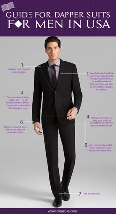 Dapper look in your suit is one of the modern form of fashion, make that possible and feel excited with our tips for obtaining it.