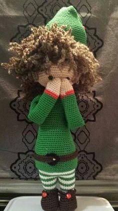 Lalylala kerstelf (idee van Suzanne van der Woude)