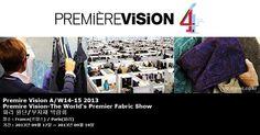 Première Vision A/W14-15 2013 Première Vision-The World's Premier Fabric Show 파리 원단/부자재 박람회