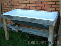 How To Make A Bathtub Worm Farm In Eight Easy Steps